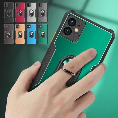 아이폰12 미니 11 pro max 핑거링 메탈 실리콘 케이스