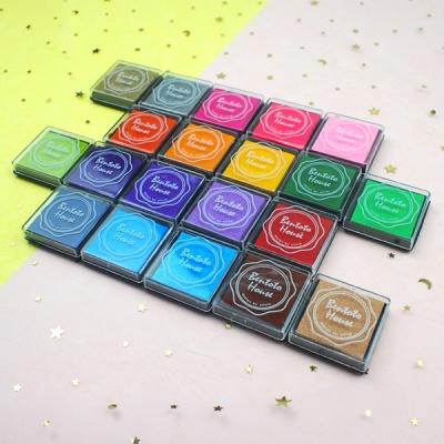 스탬프 잉크패드 20색상 세트 다이어리 꾸미기