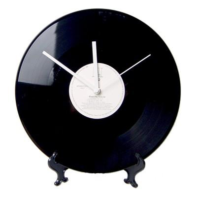 레트로 LP 탁상시계 대형