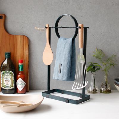 디몬 철제 주방걸이(조리도구,주방수건걸이) - 4color