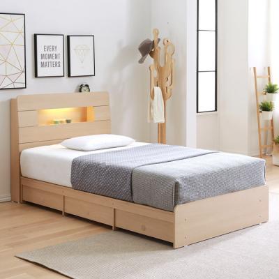 [노하우] 모코 LED 헤드수납 히든 6서랍 침대 SS