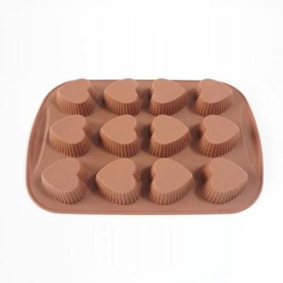 카페테리아 베이킹 12구 하트 초콜릿몰드 1개