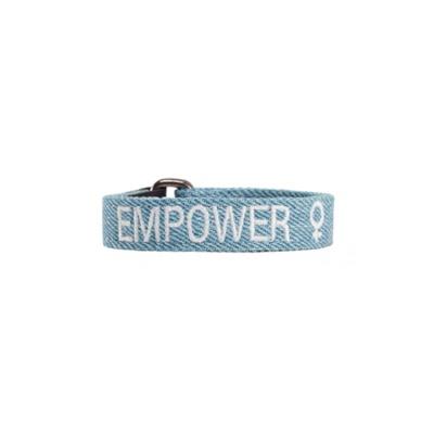여성인권 성평등 기부팔찌 EMPOWER 엠파워