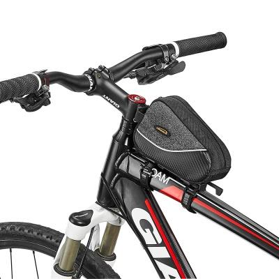슬라이드 원터치 탈부착 방식 자전거 탑튜브 가방