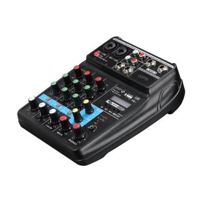4채널 오디오 사운드 믹서 / 라이브 믹싱콘솔 LCEP723