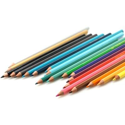 문화48색 색연필(틴케이스) 학습용 전문가용