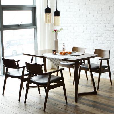 [채우리] 레이 4인 원목 식탁세트(의자)