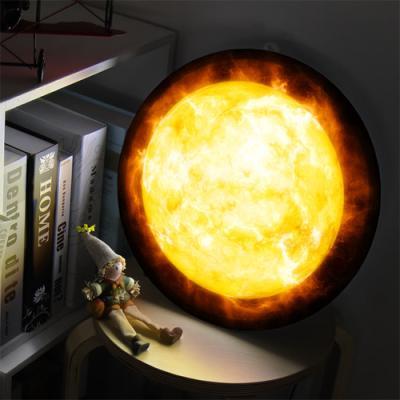 nd908-LED액자35R_불타오르는태양_LED사인