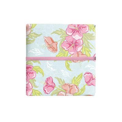핑크 플라워 포장지 (2장)
