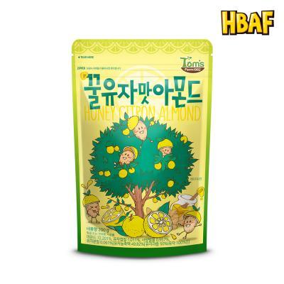 [길림양행] 꿀유자맛 아몬드 200g
