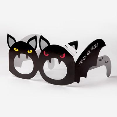[인디고샵] 할로윈 박쥐 안경 메세지 카드 (2개)