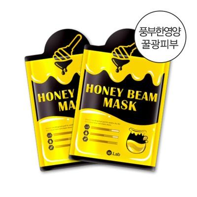 더블유랩 꿀광 마스크팩 10매입