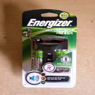 에너자이저 프로충전기(+충전지AA4알)