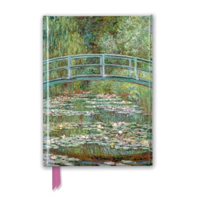유선노트북 : Claude Monet: Bridge over a Pond of Water Lilies