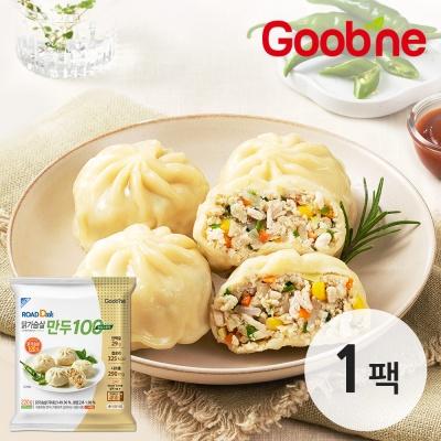 굽네 로드닭 닭가슴살 만두 100 청양고추맛 220g 1팩
