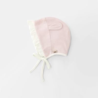 [메르베] 토끼 신생아 아기 모자/보넷_사계절용