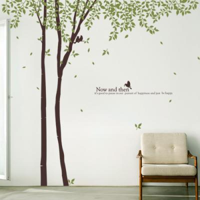 ph092-나뭇잎이흩날리는자작나무숲_그래픽스티커