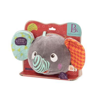 브랜드B 상상코끼리 까꿍 작동완구 애착인형