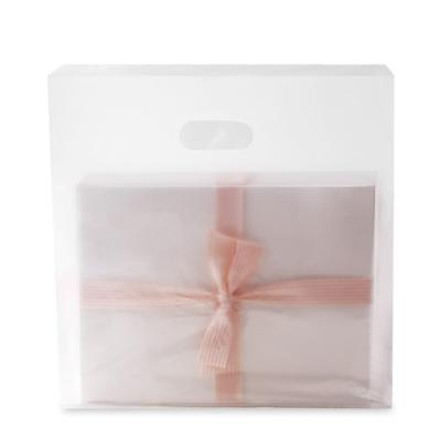 반투명 무지 비닐쇼핑백 (10개)