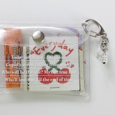 PVC LOVE wallet