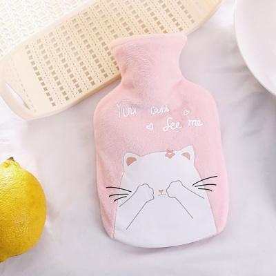 냥냥즈 보온 물주머니(200ml) (까꿍) (핑크)