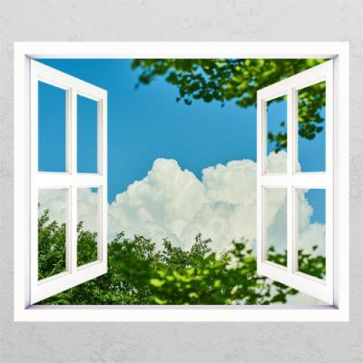 ie643-푸른하늘과나무_창문그림액자