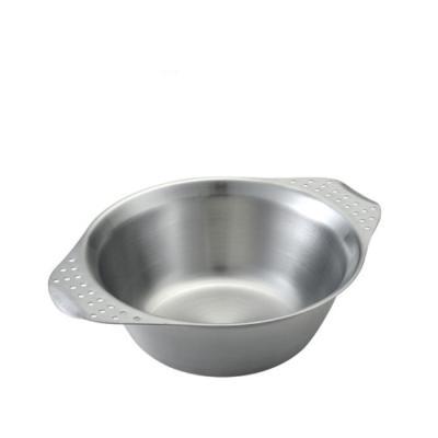 [유니프레임] 캠프 보울 스테인레스 휴대용 그릇