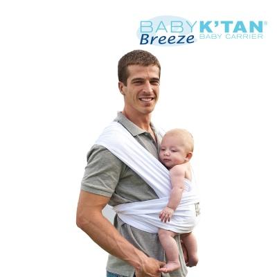 BABYKTAN 화이트 브리즈 메쉬타입 캥거루 캐어 신생아 아기띠 연령/기호에 따라 6종 포지션 착용