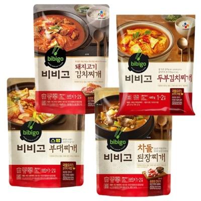 [CJ제일제당] 입맛 돋구는 찌개 4종