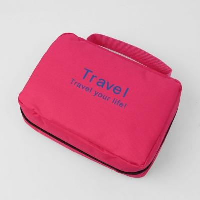 폴리다 여행용 파우치(핑크)