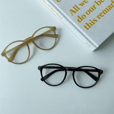뿔테 안경 갈색 블랙 검정 오버사이즈 gl-7