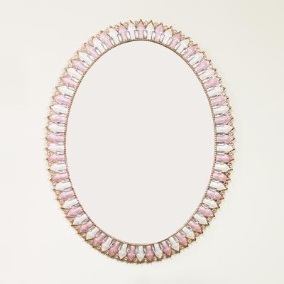 (kcjg038)라일락 거울 타원형