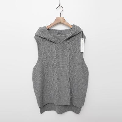 Merino Wool Hooded Vest