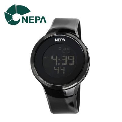 네파 남성용 아웃도어 디지털 시계 N232-BLACK 블랙