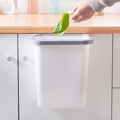 주방 걸이형 쓰레기통