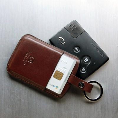 [AEGIS] 삼성 카드포켓형 이니셜각인 스마트키홀더