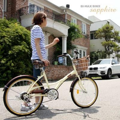 [사파이어 22인치 ] 14년 시티형 22인치 7단 자전거/삼천리자전거/여성용/아동용