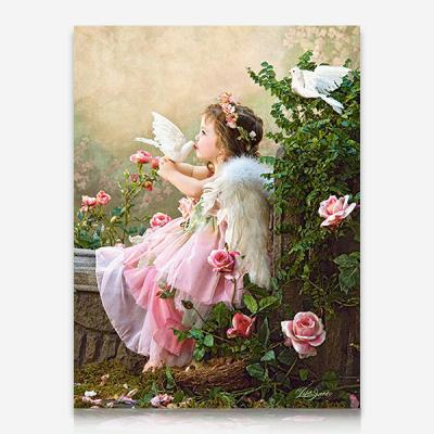 꼬마 천사의 키스 DIY 보석십자수 십자수 비즈세트