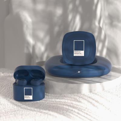PANTONE 팬톤 무선 충전기+블루투스 이어폰 세트