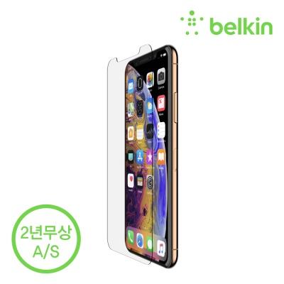 벨킨 아이폰XS 맥스용 인비지 강화유리필름 F8W905zz