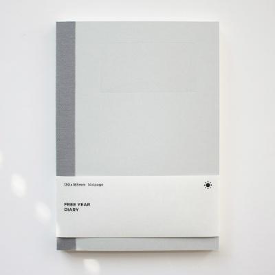 [스크래치 특가] 백상점 FREE YEAR DIARY_light gray