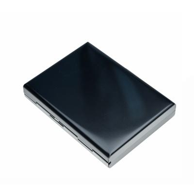 JCW03블랙스틸 명함케이스 카드지갑 반지갑