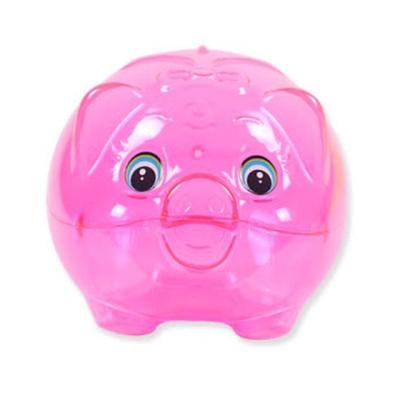 (랜덤발송) 중형 훼미리 돼지저금통 2P