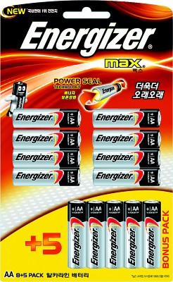 에너자이저 맥스AA(8+5알)