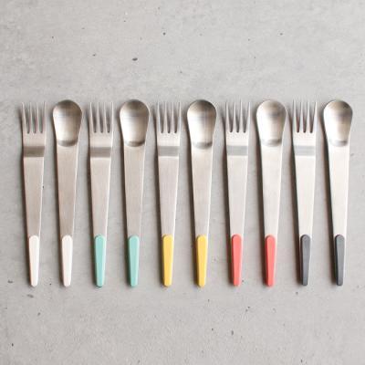 (몽블랑)보겐 슈가 실버 티스푼,티포크- 5color