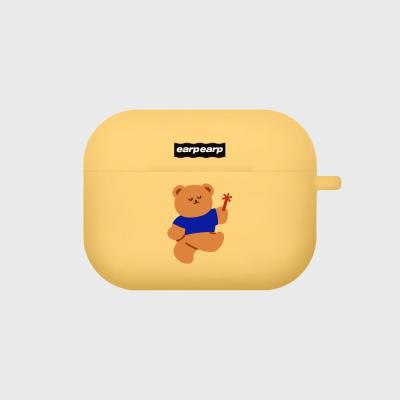 Dancing bear-yellow(Air pods pro)