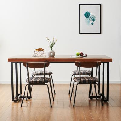 코디 1400x800 우드슬랩 식탁 4인용 테이블