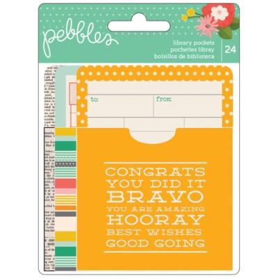 저널 카드 - Library Pockets and Cards