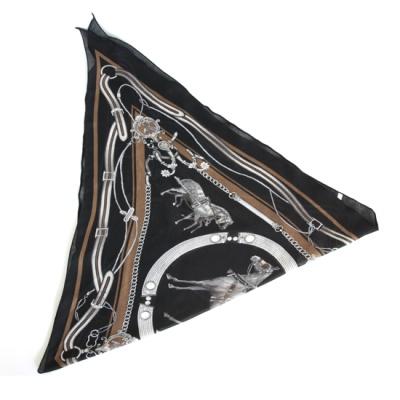 [베네]캐리지 마름모 스카프