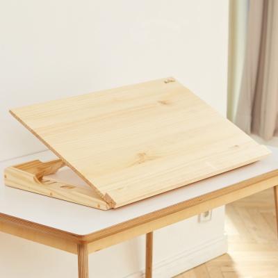 각도조절 보조책상 800_소나무+보관가방 세트